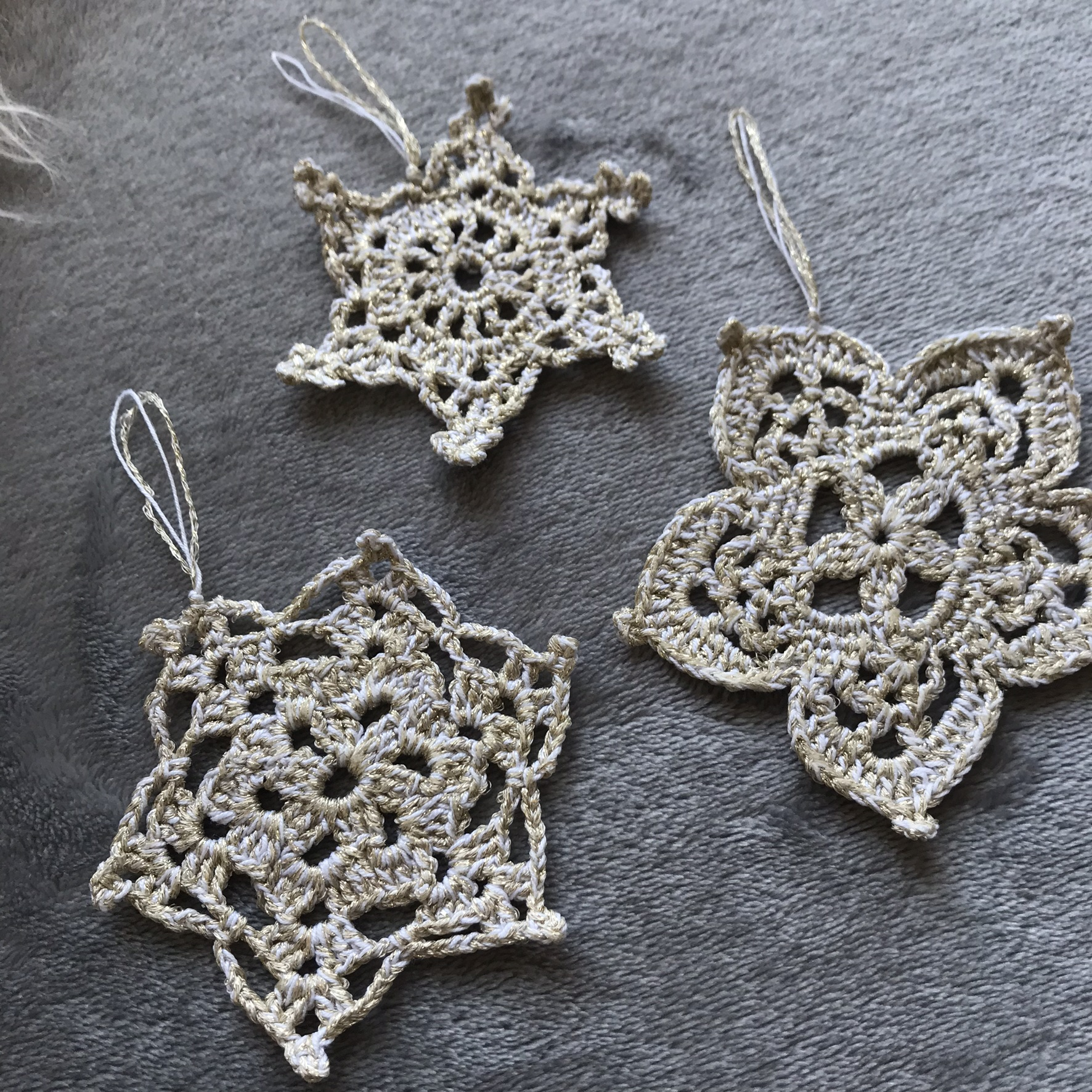flocons crochet