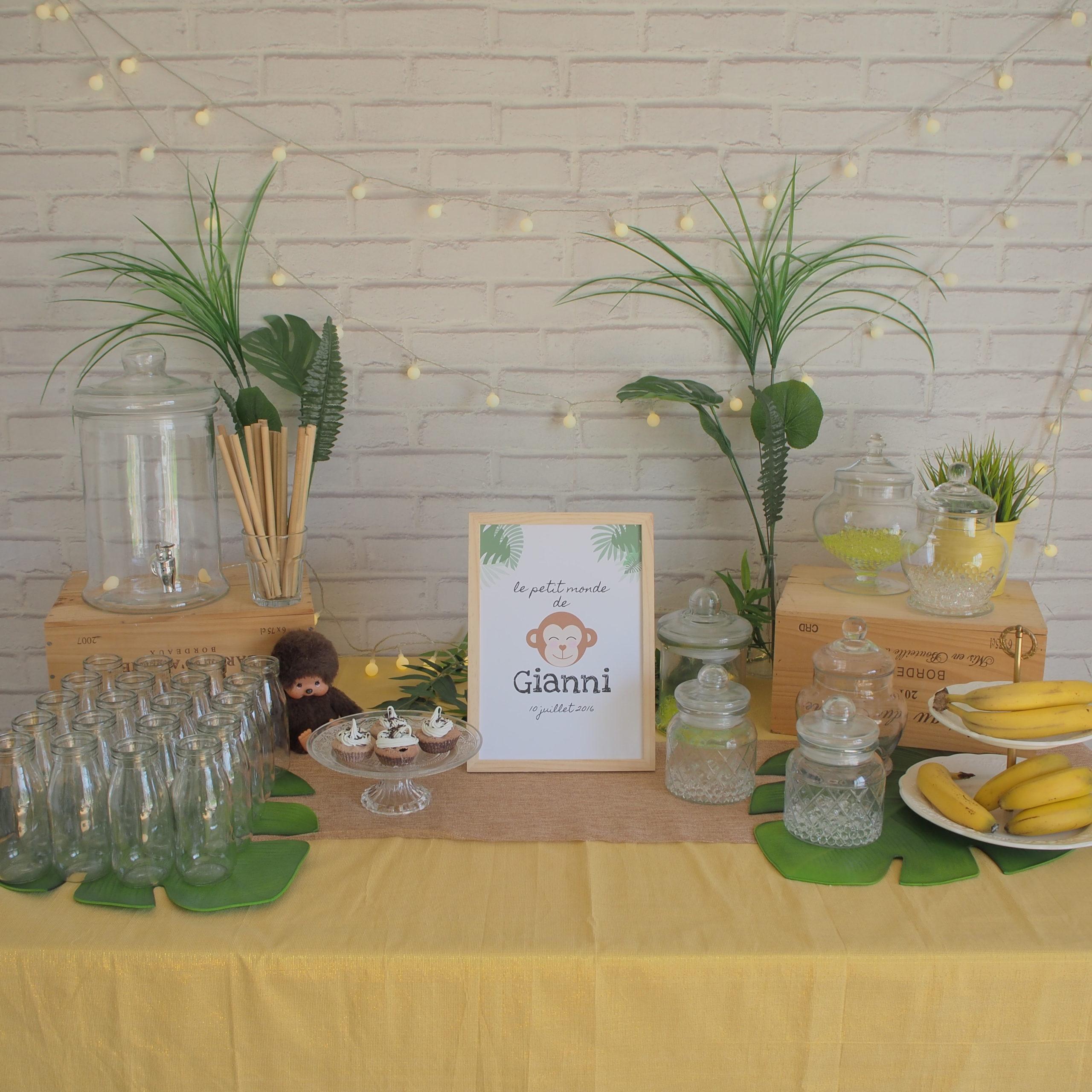 sweet table jungle gianni