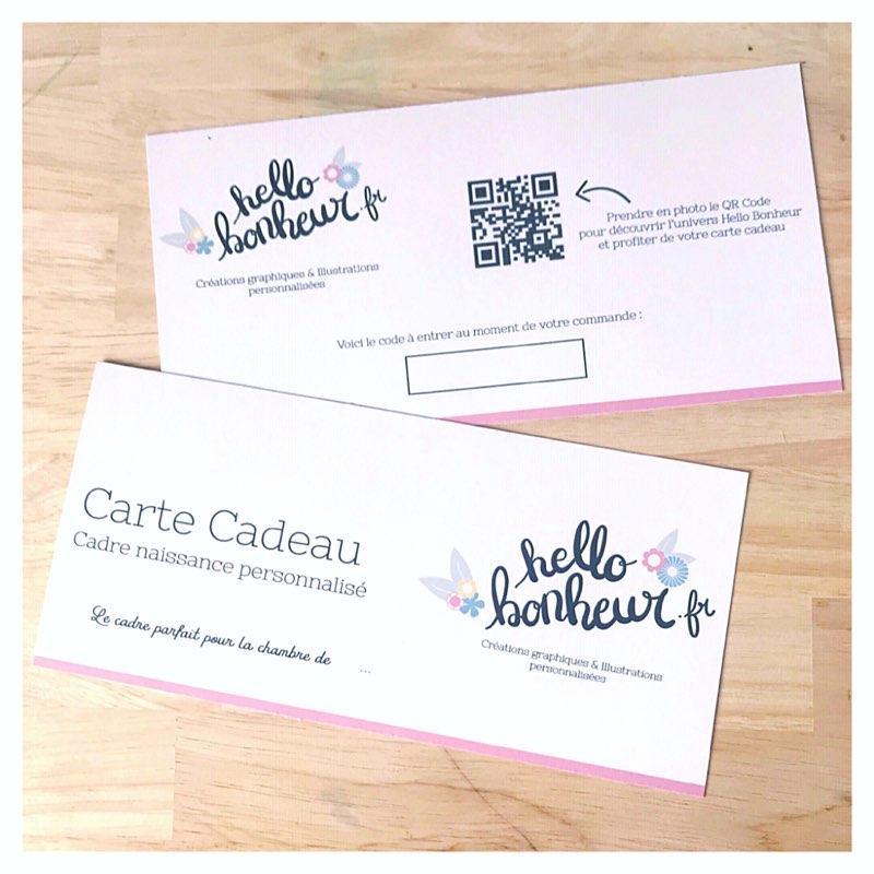 Carte Cadeau Que Du Bonheur.Carte Cadeau Affiche Sur Mesure