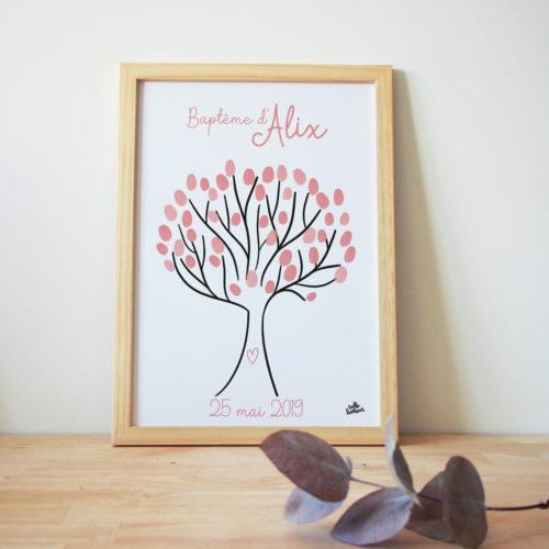 L'arbre à souvenir est une superbe animation de baptêe de mariage ou d'anniversaire et en même temps un joli souvenir à conserver