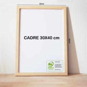 cadre 40 x 30 affiche A3
