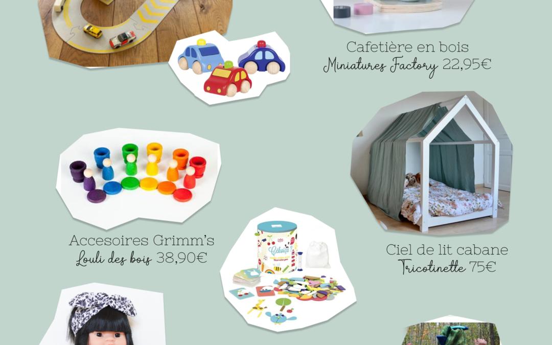 idées cadeau enfant 4 ans petit fille 4 ans et demi idée cadeau Noël anniversaire - cadeaux éthiques - boutiques françaises - jouets éducatifs
