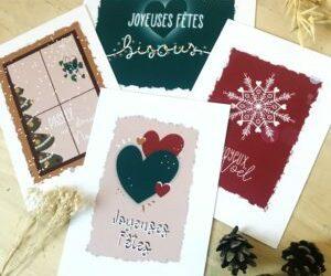 Cartes de Noël à imprimer